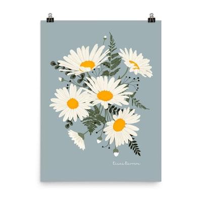 Symbolic Studio Daisy bouquet print Price