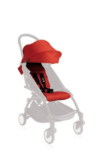 YOYO/YOYO+ 6+ Seat Pad and Canopy Only - Red