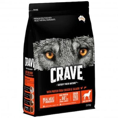 CRAVE Adult Chicken & Salmon Dry Dog Food 2.8kg