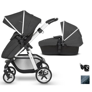 Pioneer 2020 with bassinet - Onyx