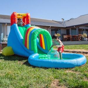 Lifespan Kids Oasis Slide & Splash Inflatable