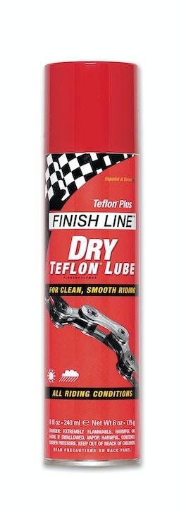 DRY LUBE (TEFLON +) 8oz AERO DG6, Chain Lubricants