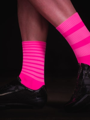 TIC CC bloc socks Mono pink