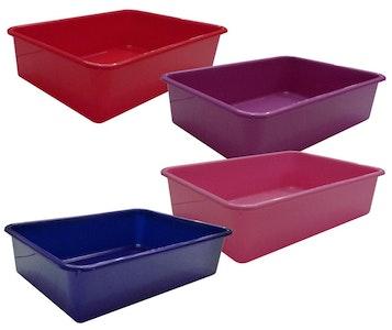 Litter Tray 44 x 31 x 11cm Red