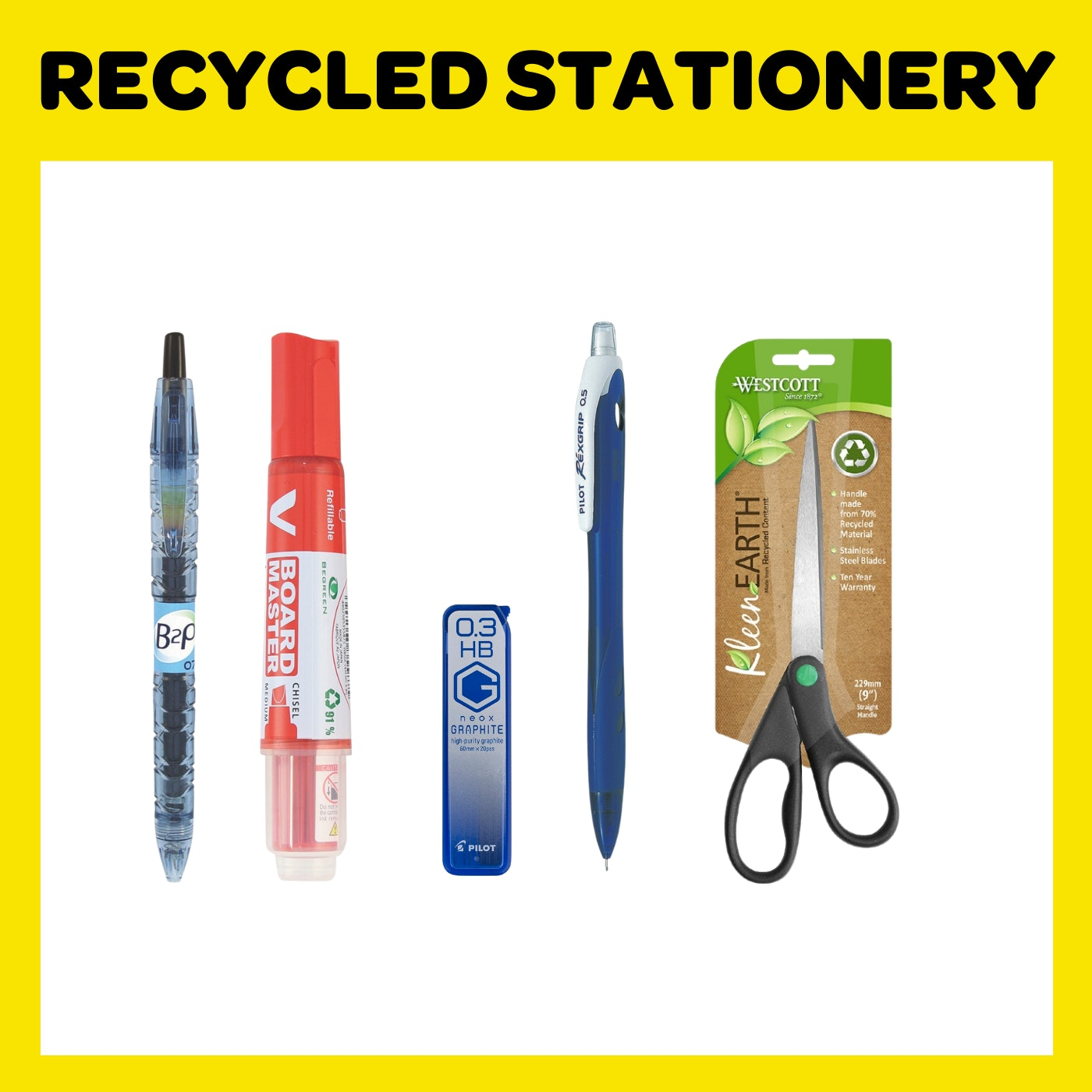 Recycled Stationery