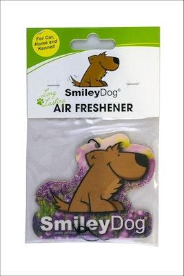 Smiley Dog Lavender Air Freshener