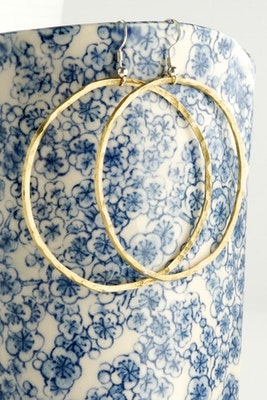 Sarah Munnings Jewellery Workshop at home 4 Learn to solder hoop earrings in Copper, Brass or Sterling Silver