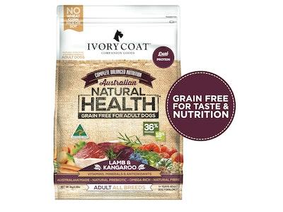 Ivory Coat Lamb & Kangaroo Grain Free Dry Dog Food 2kg
