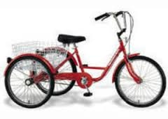 TR 2400, Recumbent Bikes & Trikes