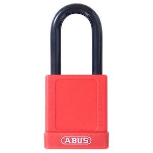ABUS Safety Lockout Padlock-Red LOTO
