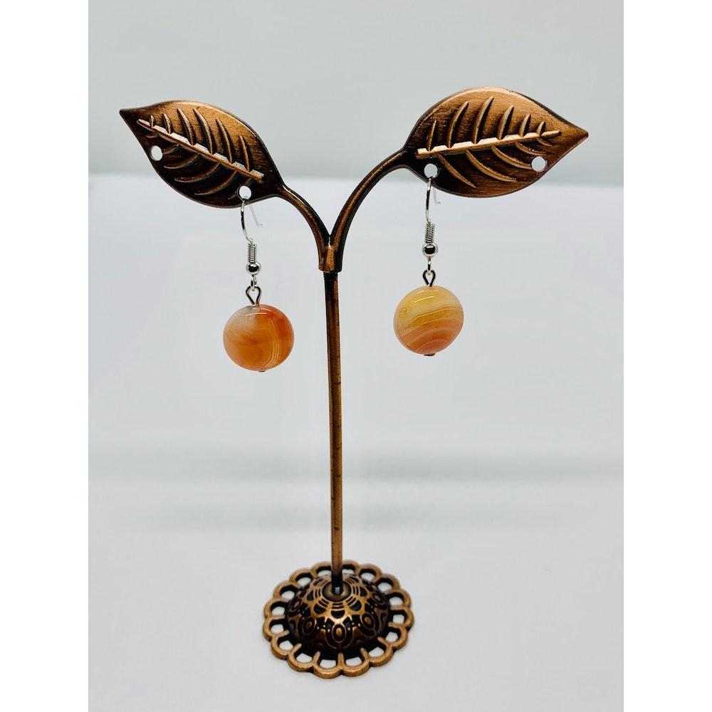 Fayre Maiden Agate Earrings