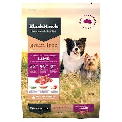 Black Hawk Grain Free Adult Lamb Dry Dog Food