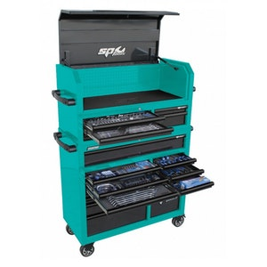 Tool Kit 488 Piece Starter Technician Professional Teal/Black SP50554T