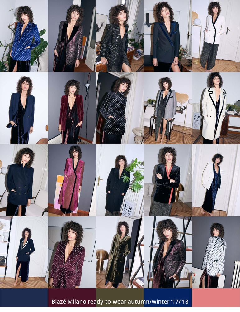 Blazé Milano ready-to-wear autumn/winter '17/'18