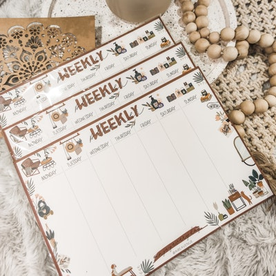 Aire Avenue Stay at Home Weekly Planner