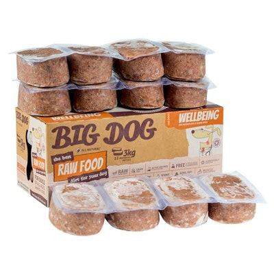 Big Dog BARF Wellbeing For Dogs 3kg