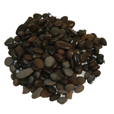 Showmaster 10kg Natural Midnight Black Pebbles