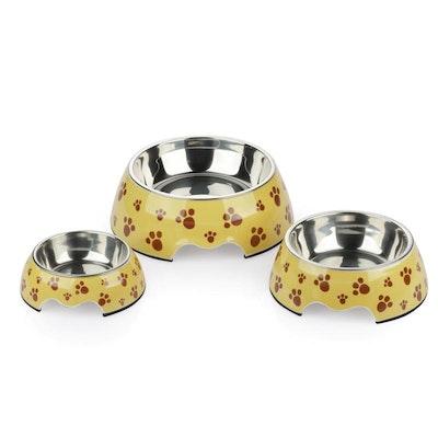 Charlie's Melamine Pet Bowls - Pug