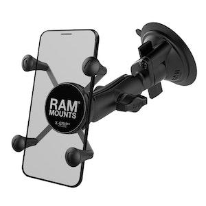 RAM-B-166-UN7U :: RAM X-Grip Phone Mount with RAM Twist-Lock Suction Cup