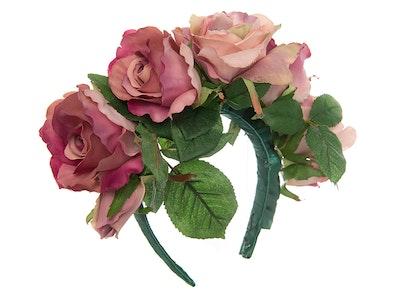 Jenny's Original Designs Pink Tea Rose Half Crown