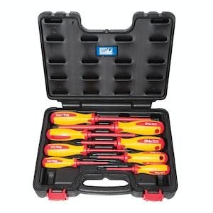 SP Tools Premium Electrical Screwdriver Set VDE 1000v AC  8pc