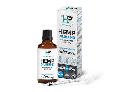 Hemp Pet HempPet Dog Oil Blend with Hoki Fish and MCT Oil 100ml