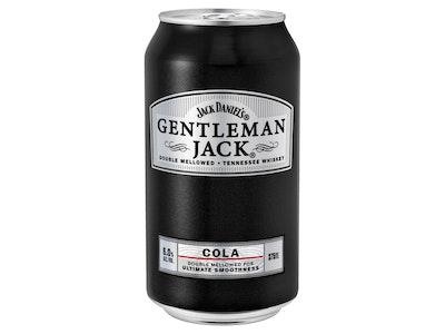Jack Daniel's Gentleman Jack & Cola Can 375mL
