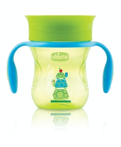 Chicco Perfect Cup With Handles 12+ Neutral 1pk 200ml