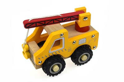 Koala Dream KD WOODEN CRANE TRUCK