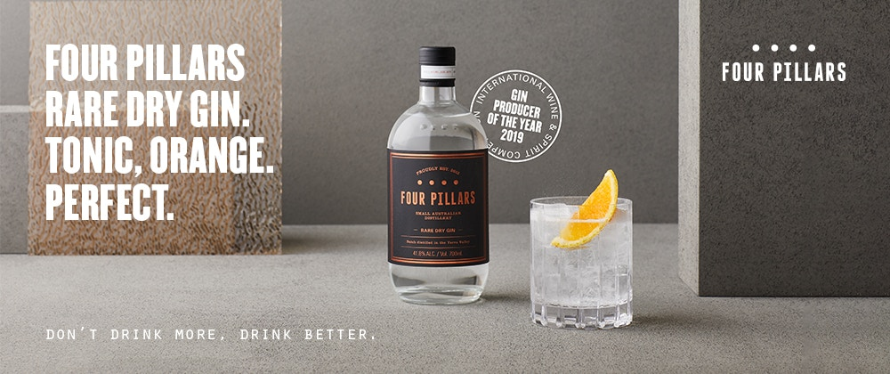 SPOTLIGHT ON FOUR PILLARS GIN