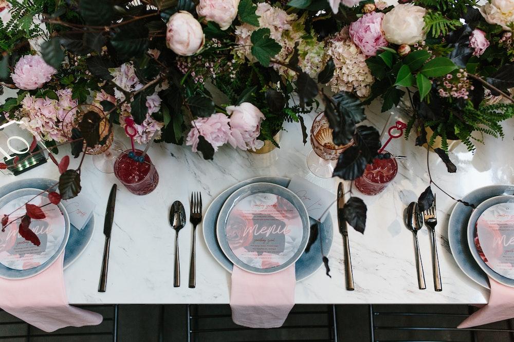 Industrial Wedding Styling LENZO