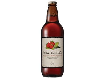 Rekorderlig Premium Strawberry and Lime Cider 500mL