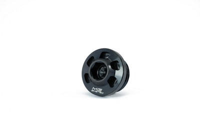 MG Biketec Oil Filler Cap (Black) For KTM Adventure Models