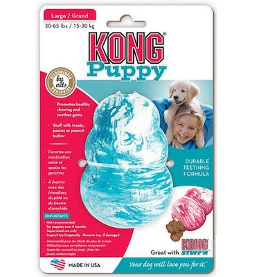 KONG Classic Puppy Treat Dispensing Dog Toy