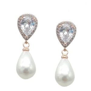 Cicely wedding earrings