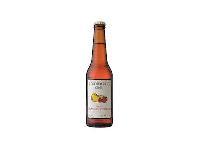 Rekorderlig Mango Raspberry Cider Bottle 330mL