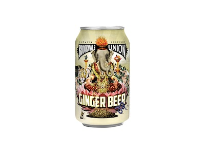 Brookvale Union Ginger Beer Can 330mL