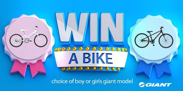 Kids Giant Bike Competition Winner