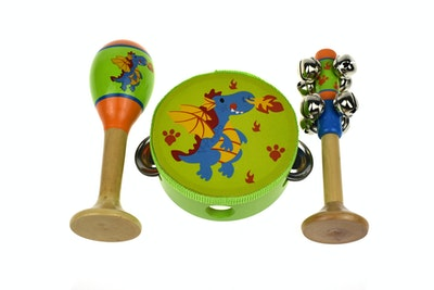 Kaper Kidz SM DRAGON 3PCS MUSICAL SET