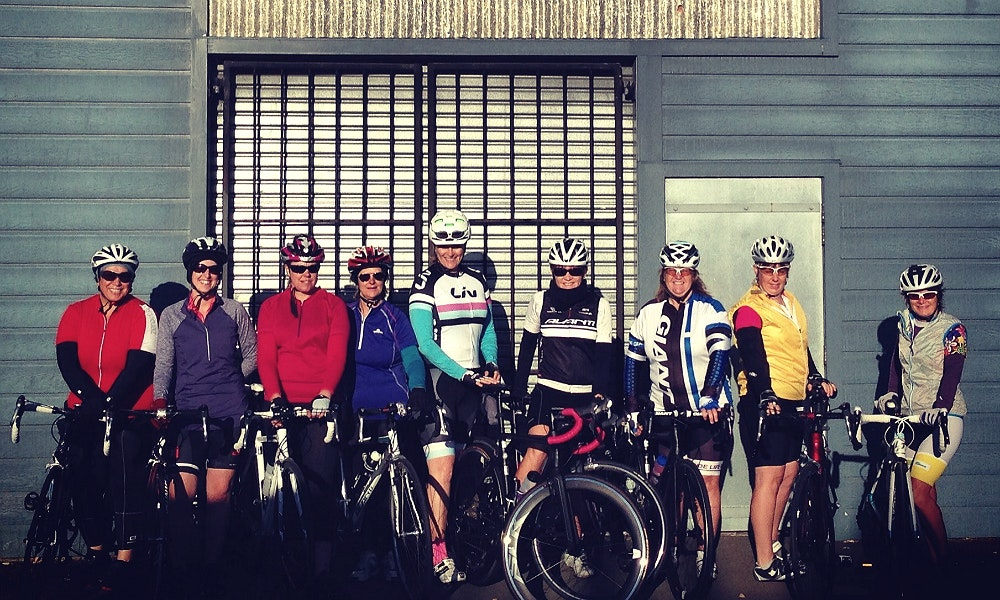 liv women s group ride