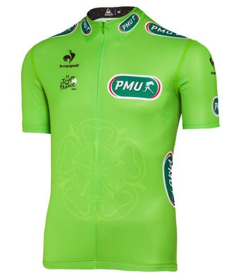 medium The Tour de France green jersey