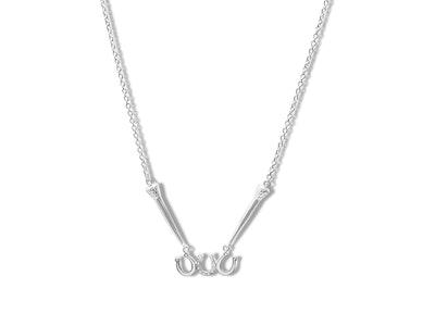 Breeze Horseshoe & Nail Necklace