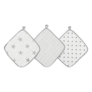 aden dusty muslin washcloths 3-pack