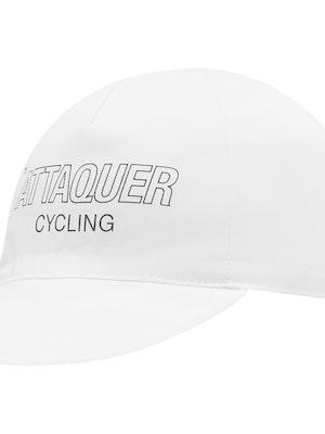 Attaquer Outliner Logo Cap White