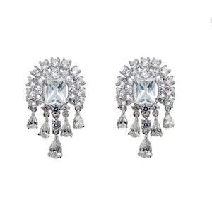 Audrey wedding earrings