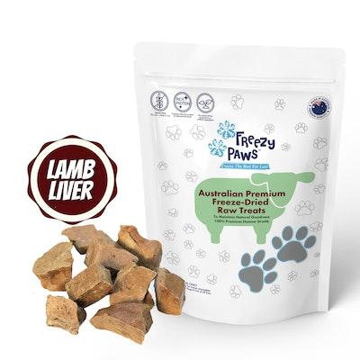 Freezy Paws Freeze-Dried Lamb Liver Raw