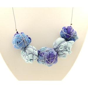 Karhina Blue Balls Reborn - Necklace