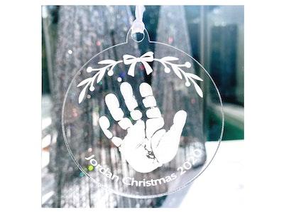 Personalised Christmas decoration - Acrylic