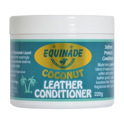 Equinade Coconut Premium Leather Care Conditioner Saddle Briddle 220g
