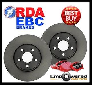 REAR DISC BRAKE ROTORS + PADS RDA8079 fits Mazda 6 MPS 2.3L Turbo 11/2005-7/2007